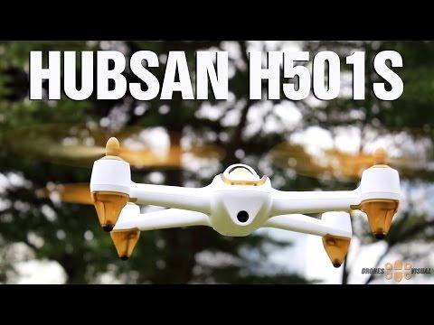 Квадракоптер Hubsan H501S X4 с HD камера FPV GPS и безчетков мотор 11
