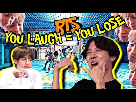 BTS 'You Laugh = You Lose' Challenge [Ultimate Version]