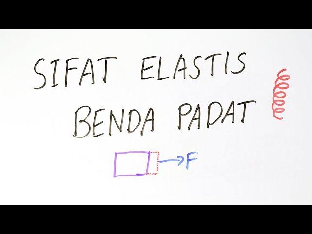 Elastisitas Benda Padat (Tegangan, Regangan, Modulus) - Fisika Kelas XI
