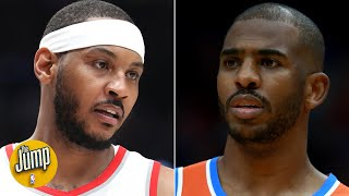 Carmelo and Chris Paul needed honesty from Daryl Morey about their trade - Marc J. Spears | The Jump