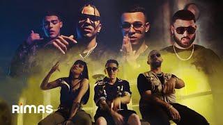 Смотреть клип Lyanno, Rauw Alejandro, Lunay, Alex Rose, Cazzu, Eladio Carrion, Lenny Tavarez - Mi Llamada Rmx