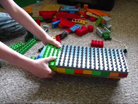 How To Build A Ship Out Of Lego Duplo Youtube