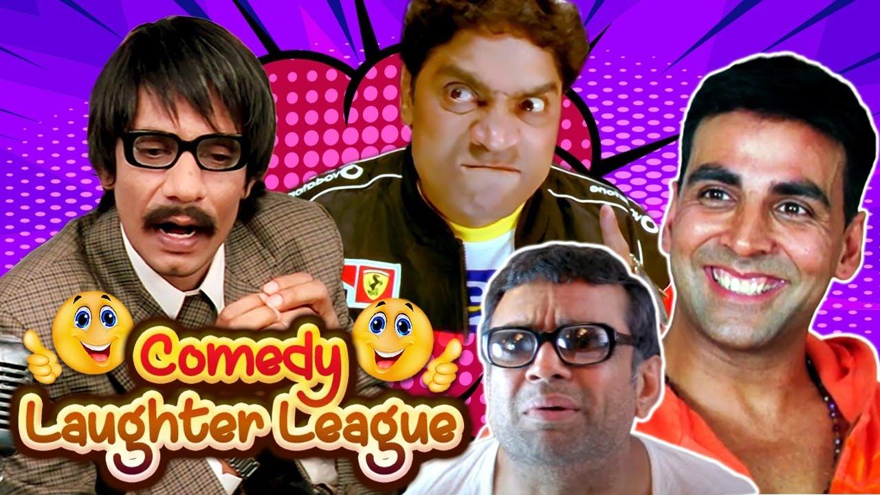 Comedy Laughter League   Best of Comedy Scenes   Bhagam Bhag - Deewane Huye Paagal - Dulhe Raja