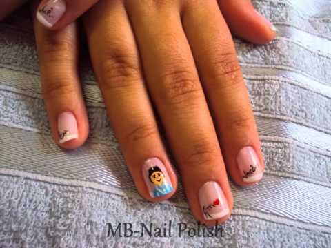MB Nail Polish - Nail art - Dia dos Namorados