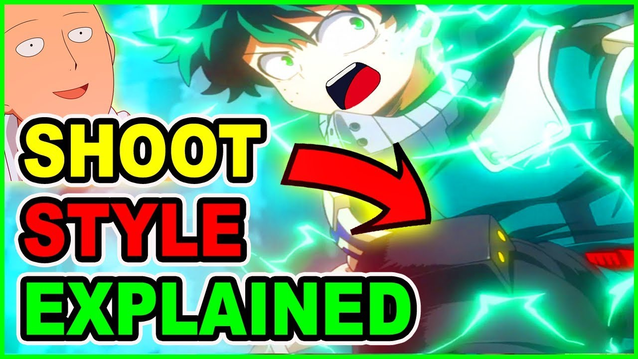 NEW ONE KICK MAN DEKU? KICK SHOOT STYLE EXPLAINED | My Hero Academia Season 3