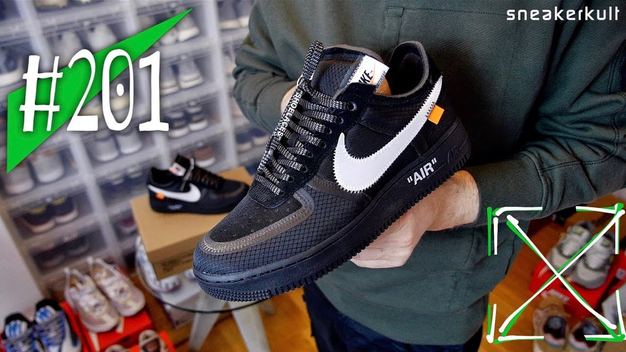 good texture buy good no sale tax #201 - Off-White x Nike Air Force 1 Low Black - Review - sneakerkult