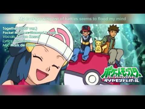 Together   Pokémon Diamond & Pearl FULL ENGLISH COVER