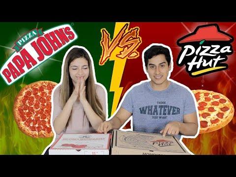PIZZA HUT VS PAPA JOHN'S EN PERÚ (¿QUIÉN GANA?)  | DesbalanceAdos