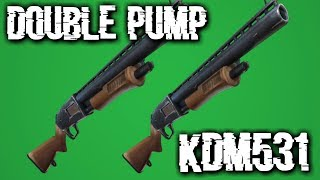 Comment DOUBLE PUMP In Fortnite SEASON 7 'DOUBLE PUMP' was BACK! Tutorial - Gameplay! (PATCHED)