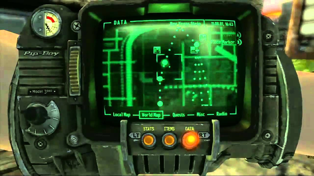 Fallout: New Vegas Trophy Guide & Road Map ...