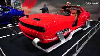 Dodge Challenger Sleigh @ The LA Auto Show