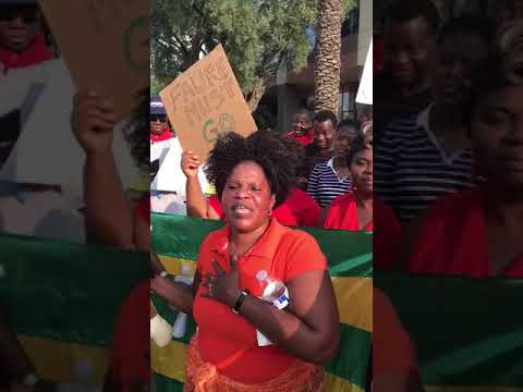 #TogoDebout - Arizona (USA): Togo is in danger, #FaureMustGo now!