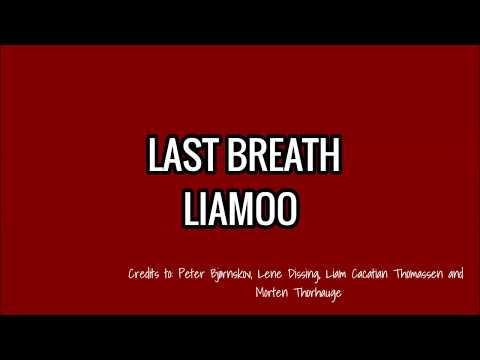 LAST BREATH - LIAMOO LYRICS (Melodifestivalen, Sweden 2018)