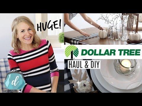 HUGE *NEW* DOLLAR TREE HAUL! 💚 DIY Farmhouse Decor, Organization, Christmas & More!