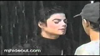Detrás de cámaras STRANGER IN MOSCOW-Michael Jackson