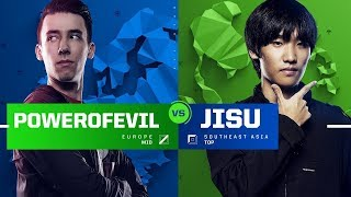 all stars   powerofevil vs jisu 1 vs 1   allstars 2017