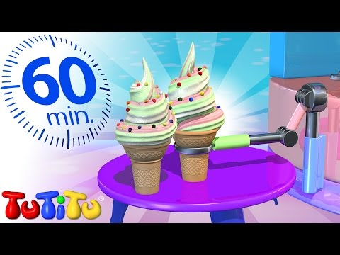 TuTiTu Specials | Ice Cream V2 | And Other Toys on Wheels | 1 HOUR Special