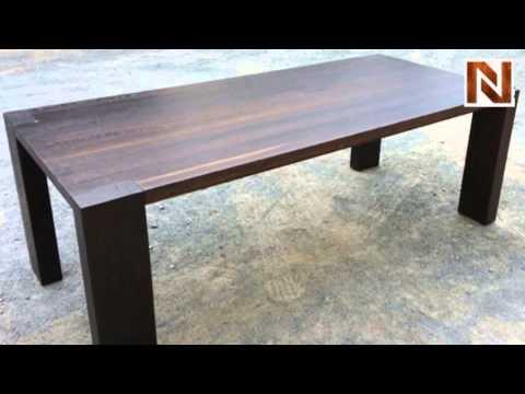 Nuevo Kota Dining Table Seared Oak