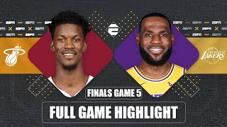 Miami Heat vs. Los Angeles Lakers [GAME 5 HIGHLIGHTS] | 2020 NBA Finals