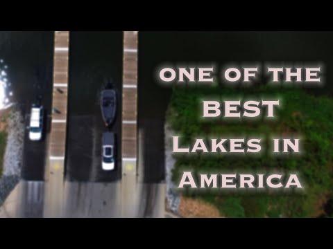 Fishing One Of The BEST Lakes In America - Shearon Harris Lake