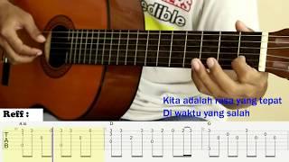 Download Video Waktu Yang Salah - Fiersa Besari - Fingerstyle Guitar Cover - Tutorial TAB. MP3 3GP MP4