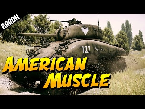 AMERICAN MUSCLE (War Thunder Tanks Gameplay) Tank Request