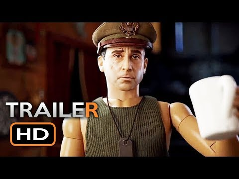 WELCOME TO MARWEN Official Trailer 2 (2018) Steve Carell Drama Movie HD