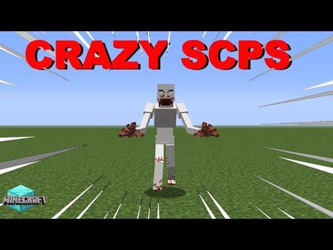 CRAZY SCPS! - Minecraft SCP Mod Funny Moments