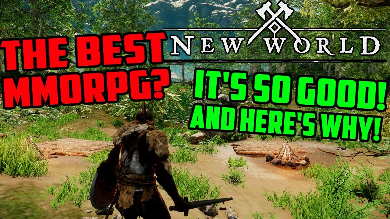 New World Might Be The Best MMORPG Out There & Here's Why