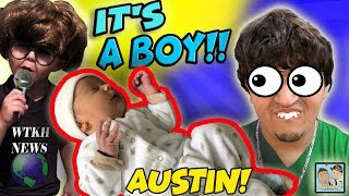 BABY BOY IS HERE !BIG NEWS! WORLDS BEST SINGER! LULLABY SONGS! DINGLE HOPPERZ BABY IS HERE! VLOG!