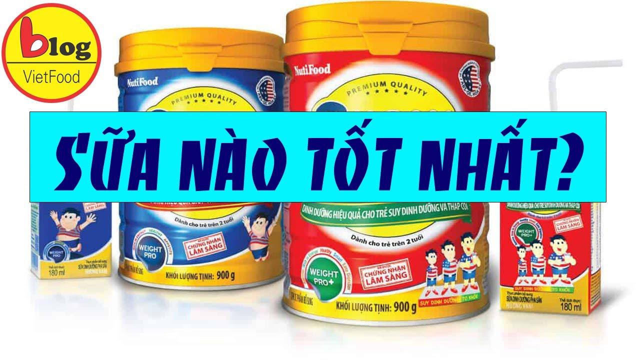 Sữa trẻ em – Tổng hợp 9 thương hiệu sữa cho bé nổi tiếng tại Việt Nam