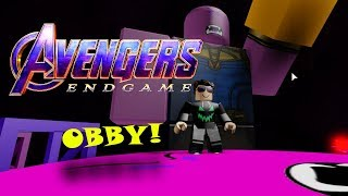 Escape THANOS! at Roblox - END GAME OBBY