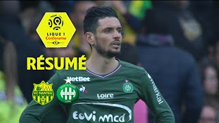 FC Nantes - AS Saint-Etienne ( 0-3 ) - Résumé - (FCN - ASSE) / 2017-18