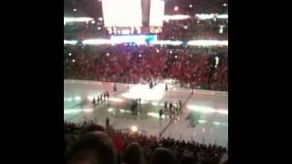 Loudest anthem ever at United Center