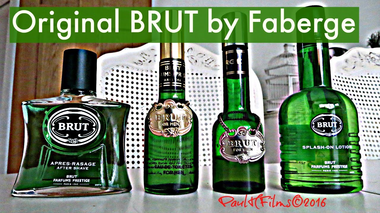 Original Brut Aftershave By Faberge Youtube