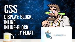 Estilos css: display block, inline, inline-block y float