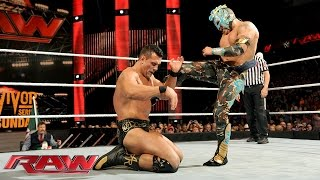Kalisto vs. Alberto Del Rio - WWE World Heavyweight Championship Tournament Quarterfinal Match: Raw,