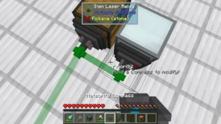 Actually Additions Basic Item Transport Tutoral