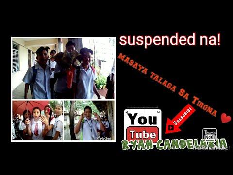 #suspension #youdonote Masaya Sa Tirona