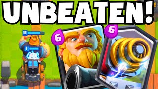 Clash Royale UNDEFEATED/UNBEATEN Royal Giant Sparky Deck Strategy | Buying Legendary Card From Shop