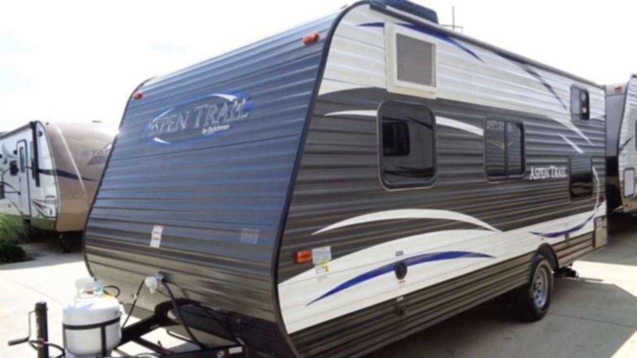 New 2017 Dutchmen Aspen Trail Mini 1700BH Travel Trailer ...