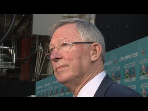 Sir Alex Ferguson Interview As He Launches The Glasgow Logo For Euro 2020