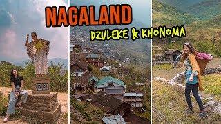 NAGALAND - DZULEKE & KHONOMA | Travelling in North-East India | Indian Travel vlogs