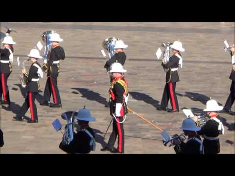 06-08-16 RMSoM Beating Retreat
