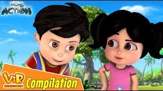 Best Episodes Of Vir The Robot Boy | Cartoon For Kids | Compilation 70 | Wow Kidz Action