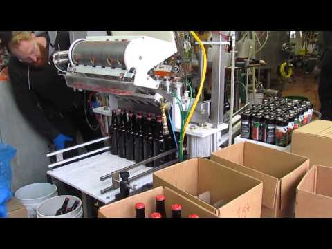 Pipeworks Brewing Bottling Machine In Action