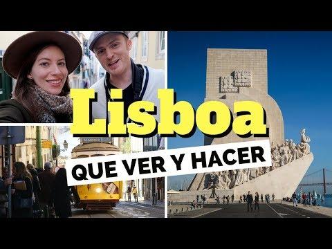 20 Cosas Que Ver y Hacer en Lisboa, Portugal Guía Turística