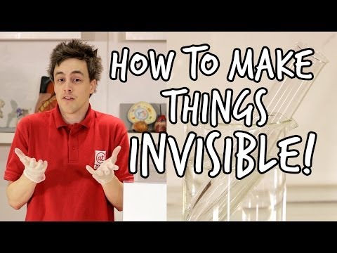 How to make something invisible | Do Try This At Home | We The Curious