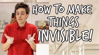 How to make something invisible | Do Try This At Home | At-Bristol Science Centre