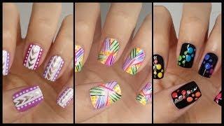 Easy Nail Art For Beginners!!! #13 | Missjenfabulous